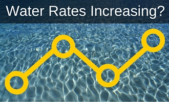 Understand the many causes of increasing water rates