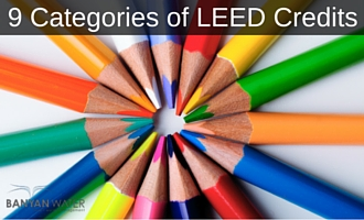 LEED Points fall into 9 different categories