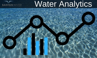 Use water analytics to reduce water usage