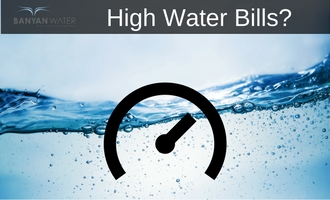 If you have high water bills, you are not alone