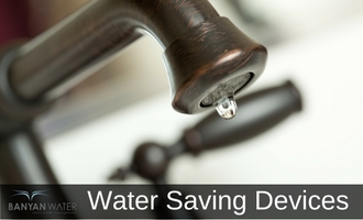 Simple devices that save water
